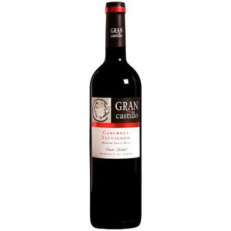 Вино Gran Castillo Cabernet Sauvignon червоне напівсол 0,75л