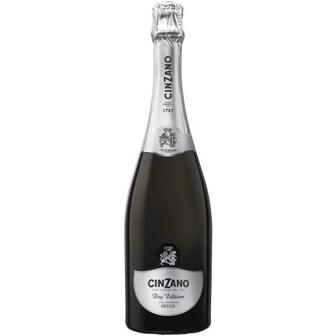 Вино ігристе Cinzano Dry Edition біле сухе 0,75л