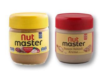 Паста арахісова/ кунжутна Nut Master 350/400 г