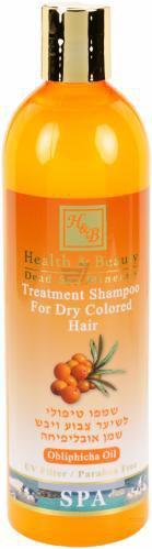 Шампунь Health and Beauty для сухого фарбованого волосся 400 мл