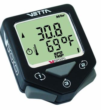 Аналоговий дротовий велокомпьютер Vetta V100