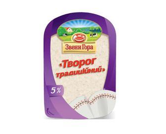 Сир «Звени Гора» «Творог традиційний» 5% жиру, 230г