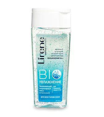 Міцелярний гель Lirene Bio зволожуючий з вітаміном Е для всіх типів шкіри 200мл
