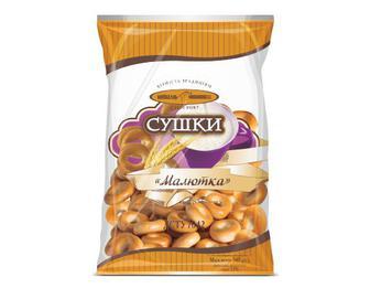 Сушки «Малютка» «Київхліб» 340 г