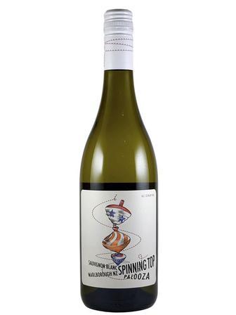 Вино Совіньон-Блан біле сухе Спіннінг Топ 0,75 л