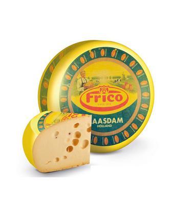 Сир Маасдам 45% Фріко 1 кг