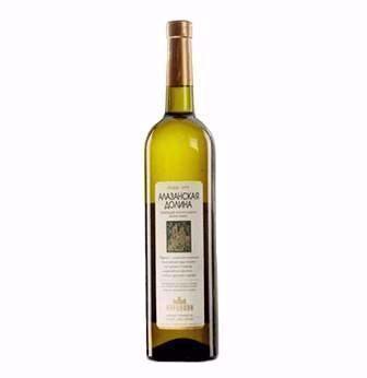 Вино Алазанська долина напівсолодке біле, червоне Вардіані 0,75 л