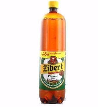 Пиво Светлое, 2,4л, Зиберт