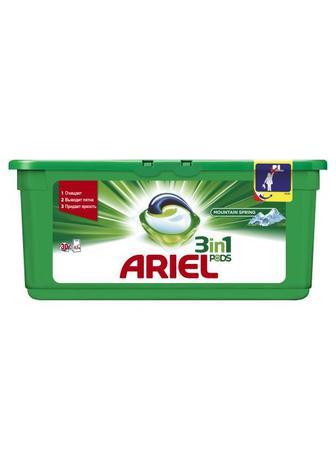 Капсулы для стирки ARIEL Горный Источник, 30шт