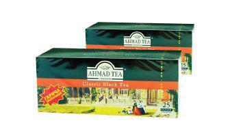 Чай чорний Блек класік Ахмад 25 пак
