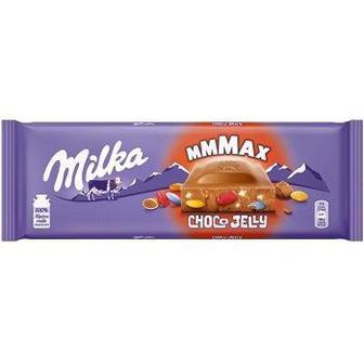 Шоколад Milka Choco Jelly з мармеладо ,драже та карамеллю 250г