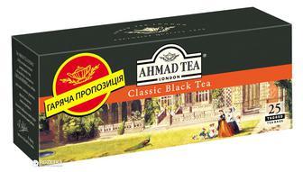 ЧАЙ Чорний Classic, 25 x 2 г AHMAD TEA