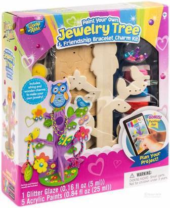 Іграшковий набір для творчості Masterpieces Дерево для прикрас 21437