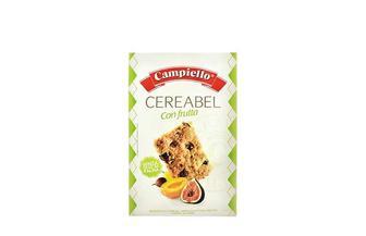 Печиво Cereabel con Frutta цiльнозepновe з сухофpуктами Campiello 220 г
