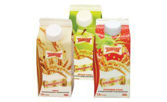 Йогурт 1,5% Яблуко-злаки, полуниця- злаки, злаки Злагода 300 г