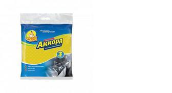 Салфетки для уборки целлюлоза Аккорд, Фрекен Бок, 3шт
