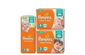 Підгузники Sleep&Play  Pampers