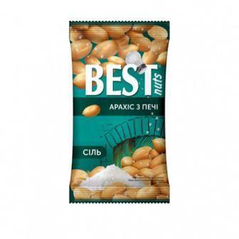 Ядра арахиса жареные соленые Best Nuts, 80г