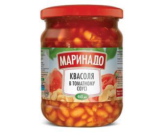 Скидка 43% ▷ Квасоля «Маринадо» в томатному соусі, 500г