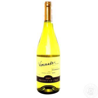 Вино Каберне-Совіньон червоне сухе, Шардоне біле сухе Вайнмейкер 0,75 л