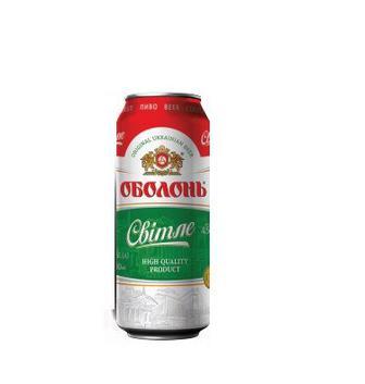Пиво світле Оболонь 0.5 л