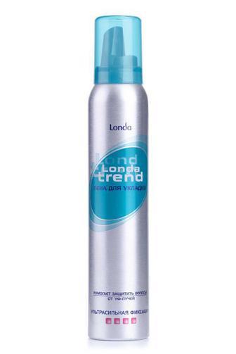 Пена для волос LondaTrend ультра-сильной фиксации 200 мл