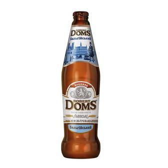Пиво Robert Doms, Львівське, 0,5л