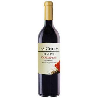 Скидка 33% ▷ Вино Las Chilas червоне сухе Чилі 0,75л