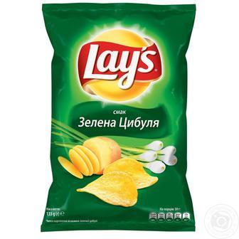 Чіпси картопляні Лейс 133г