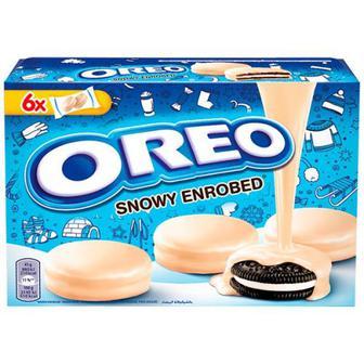 Печиво Oreo в білій глазурі 246г