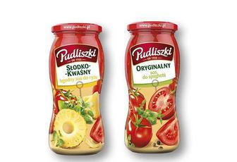 Соус Кисло-солодкий з ананасами/ Оригінальний до спагеті Pudliszki 500 г