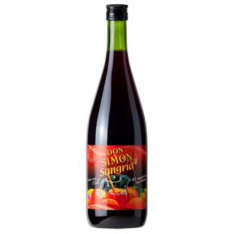 Ароматизоване вино Дон Симон Сангрія солодке червоне, Don Simon Sangria 1 л