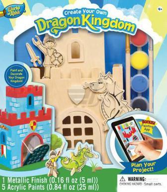 Іграшковий набір для творчості Masterpieces Королівство дракона 21504