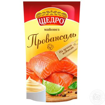 Майонез Провансаль 67% Щедро 190г