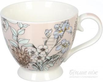 Чашка на ніжці Rustiс Beige 460 мл Fiora