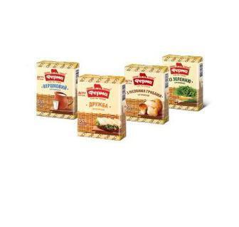 Сир плавлений 55 % Вершковий, Дружба, з лісовими грибами 90 г