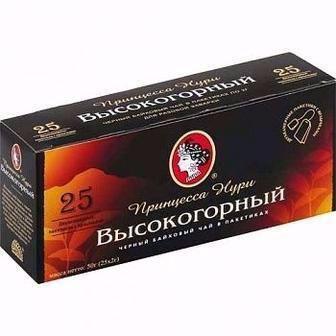 Чай чорний Високогірний Принцеса Нурі 25пак