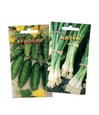 Насіння овочів, зелені або квітів 0,3г