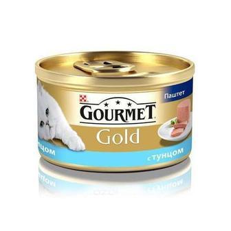 Корм Gourmet Gold для кошек с тунцем. Мусс, 85