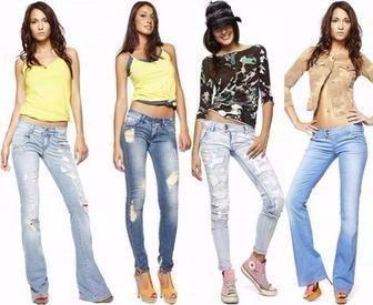 Весь ассортимент женских джинсовых брюк