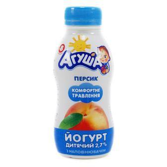 Йогурт питний 2,7% Агуша 200г