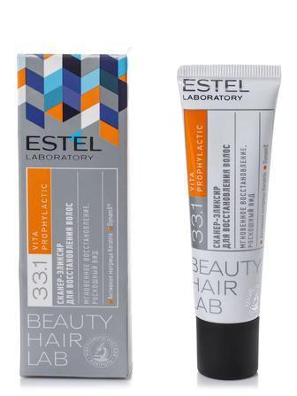 Сканер-эликсир ESTEL для восстановления волос 30 мл