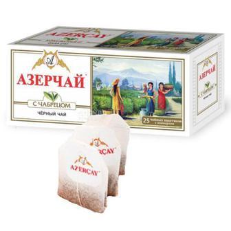 Чай чорний Аzercay з чебрецем 25шт