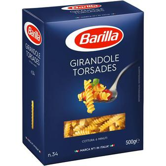 Макаронні вироби Barilla Cappellini №1/Fusilli/Penne Rigate №73 500г