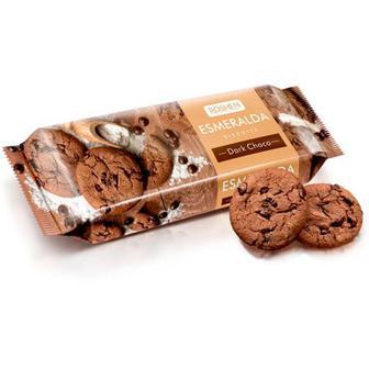 Печиво Roshen Есмеральда з какао та глазурью 150г