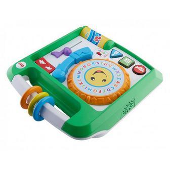 Интерактивная игрушка Fisher-Price Музыкальный проигрыватель рус и англ (FBM60)