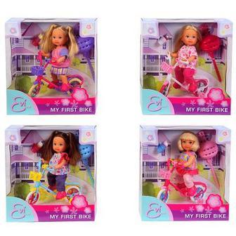 Кукла Ева на велосипеде Steffi & Evi Love (5731715)