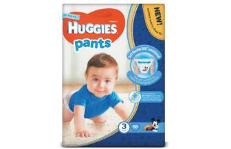 Підгузки-трусики Huggies Pants для хлопчиків 3 (6-11 кг) 58шт./уп