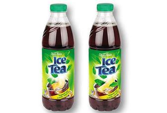 Холодний чай чорний, смак лимон/ персик Своя Лінія 1 л