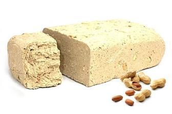 Халва подсолнечная с арахисом Золотий Вік кг